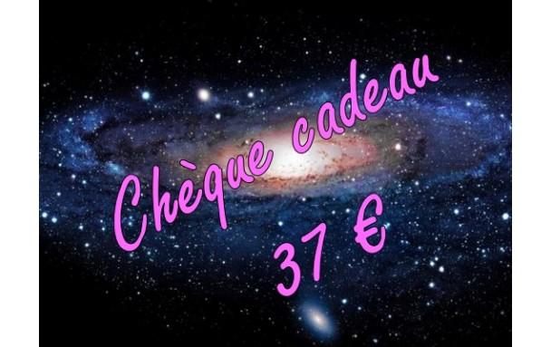 Chèque cadeau 37 €